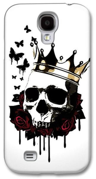 King Galaxy S4 Cases - El Rey de la Muerte Galaxy S4 Case by Nicklas Gustafsson