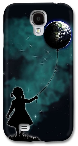 The Girl That Holds The World Galaxy S4 Case