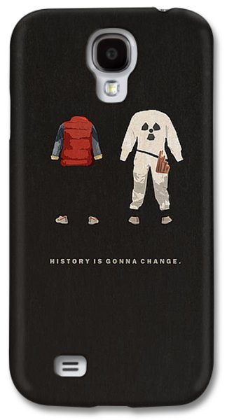 Back To The Future Galaxy S4 Case by Alyn Spiller