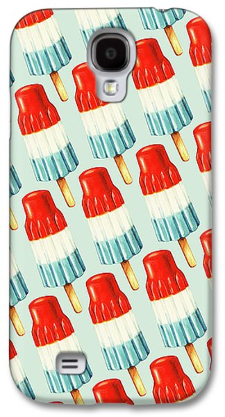 Bomb Pop Pattern Galaxy S4 Case