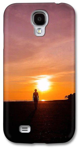 Sunset Walk Galaxy S4 Case