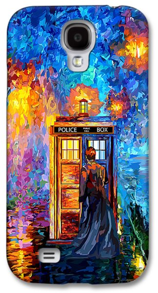 The Doctor Lost In Strange Town Galaxy S4 Case