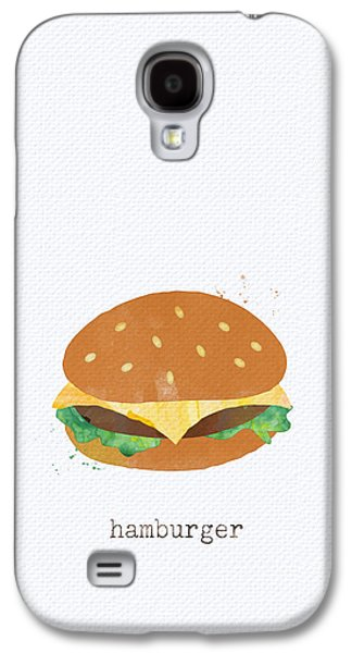 Hamburger Galaxy S4 Case by Linda Woods
