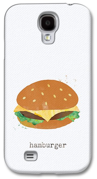 Lettuce Galaxy S4 Case - Hamburger by Linda Woods