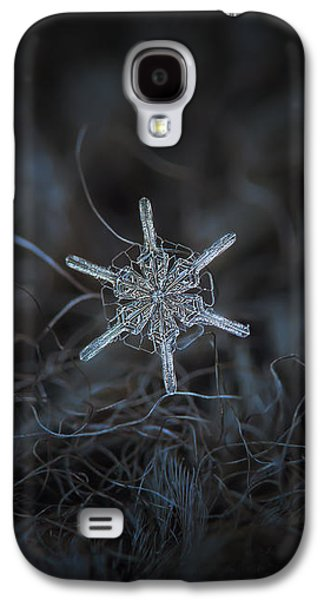 Snowflake Photo - Steering Wheel Galaxy S4 Case