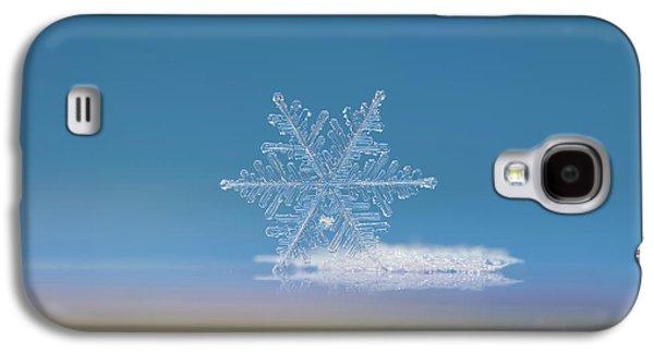 Snowflake Photo - Cloud Number Nine Galaxy S4 Case