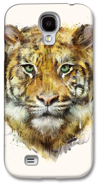Tiger // Strength Galaxy S4 Case by Amy Hamilton