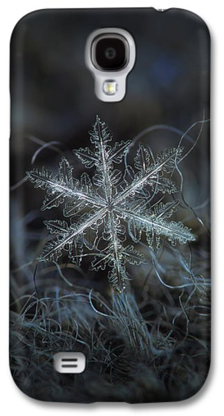 Leaves Of Ice Galaxy S4 Case