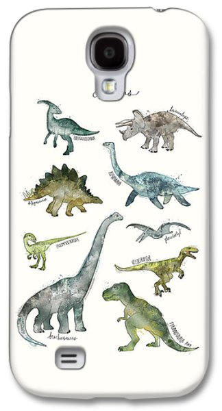 Dinosaurs Galaxy S4 Case by Amy Hamilton