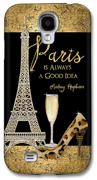 Paris Is Always A Good Idea - Audrey Hepburn Galaxy S4 Case