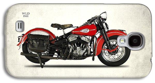 Harley-davidson Wld 1941 Galaxy S4 Case