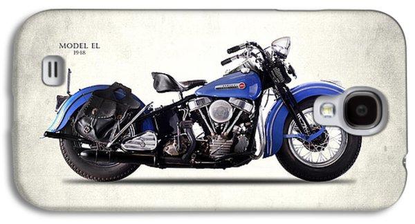 Harley-davidson El 1948 Galaxy S4 Case by Mark Rogan