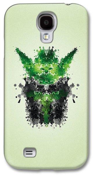 Rorschach Yoda Galaxy S4 Case by Philipp Rietz