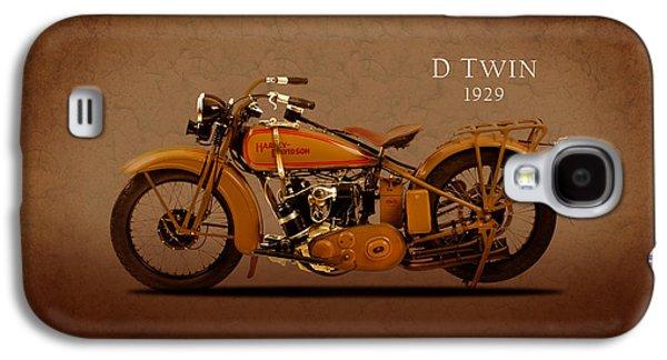 Harley Davidson D Twin Galaxy S4 Case