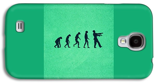 Evolution Of Zombies Zombie Walking Dead Galaxy S4 Case by Philipp Rietz