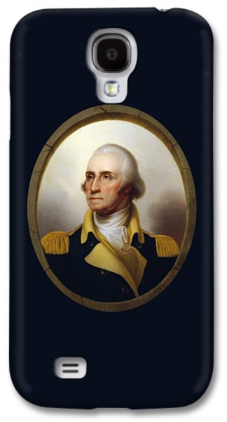 George Washington Galaxy S4 Case - General Washington - Porthole Portrait  by War Is Hell Store