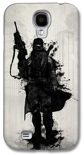 Post Apocalyptic Warrior Galaxy S4 Case by Nicklas Gustafsson