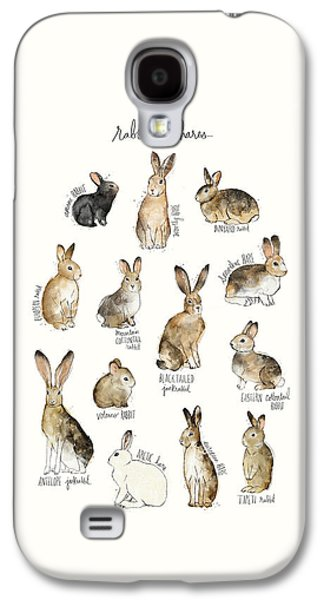 Rabbits And Hares Galaxy S4 Case by Amy Hamilton