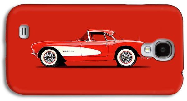 Corvette 57 Galaxy S4 Case