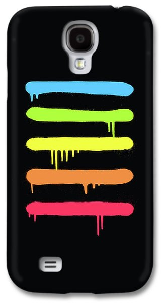 Trendy Cool Graffiti Tag Lines Galaxy S4 Case