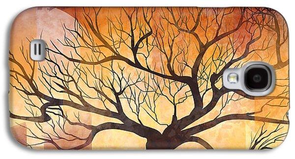 Halloween Tree Galaxy S4 Case by Thubakabra