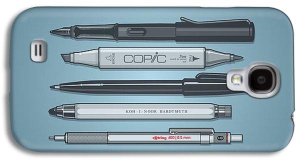 Pro Pens Galaxy S4 Case by Monkey Crisis On Mars