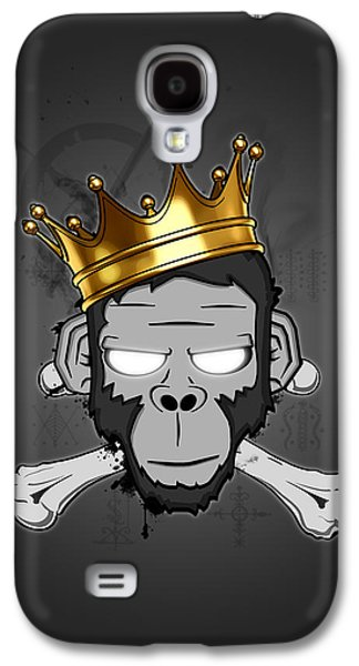 Monkey Galaxy S4 Case - The Voodoo King by Nicklas Gustafsson
