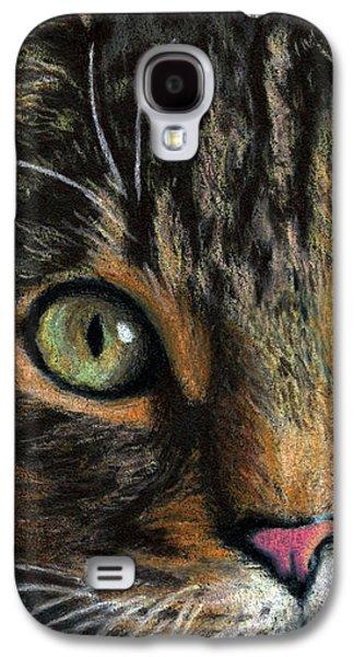 Mesmer Eyes Detail  Galaxy S4 Case by Sarah Batalka