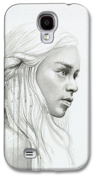 Daenerys Mother Of Dragons Galaxy S4 Case by Olga Shvartsur