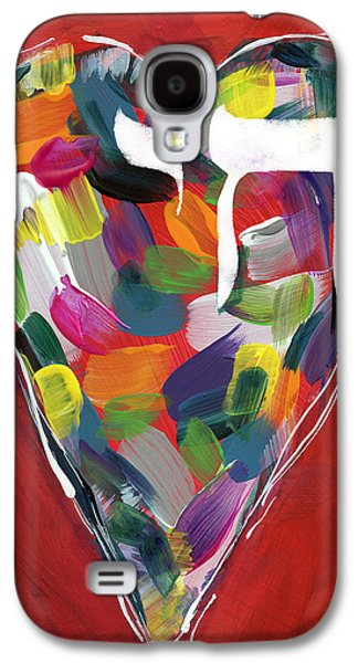 Life Is Colorful - Art By Linda Woods Galaxy S4 Case by Linda Woods