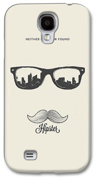 Hipster Neither Lost Nor Found Galaxy S4 Case