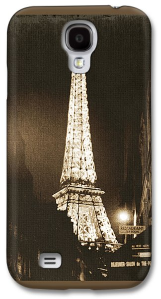 Postcard From Paris- Art By Linda Woods Galaxy S4 Case by Linda Woods