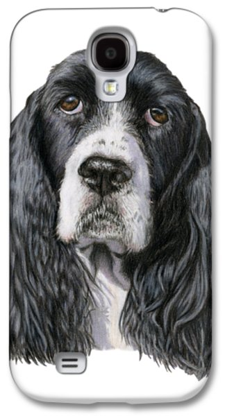 The Springer Spaniel Galaxy S4 Case by Sarah Batalka