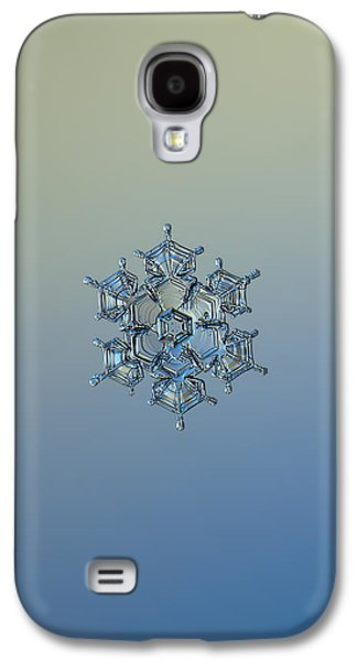 Snowflake Photo - Flying Castle Alternate Galaxy S4 Case