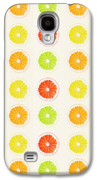 Juicy Citrus Galaxy S4 Case by Little Bunny Sunshine