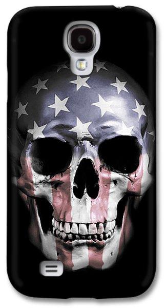 American Skull Galaxy S4 Case by Nicklas Gustafsson