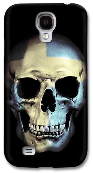 Swedish Skull Galaxy S4 Case