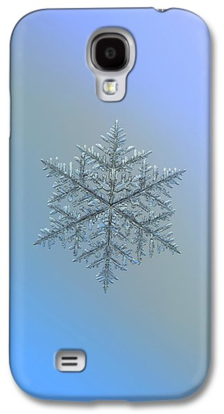 Snowflake Photo - Majestic Crystal Galaxy S4 Case
