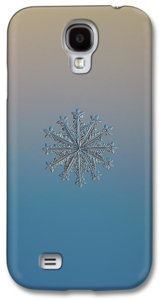 Snowflake Photo - Wheel Of Time Galaxy S4 Case