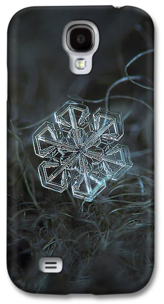 Snowflake Photo - Alcor Galaxy S4 Case