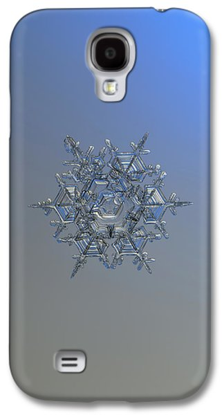 Snowflake Photo - Crystal Of Chaos And Order Galaxy S4 Case