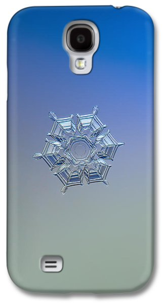 Snowflake Photo - Ice Relief Galaxy S4 Case