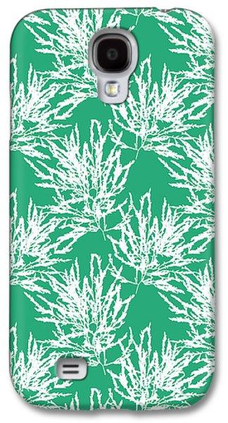 Sea Green Seaweed Art Odonthalia Dentata Galaxy S4 Case by Christina Rollo