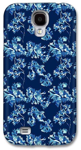 Abstract Seaweed Art Rhodomenia Laciniata Galaxy S4 Case by Christina Rollo