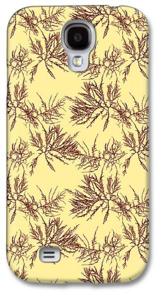 Ocean Seaweed Plant Art Laurencia Tenuissima Galaxy S4 Case by Christina Rollo