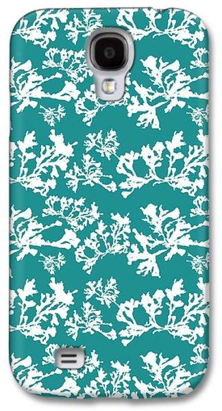 Ocean Seaweed Plant Art Phyllophora Rubens Galaxy S4 Case by Christina Rollo