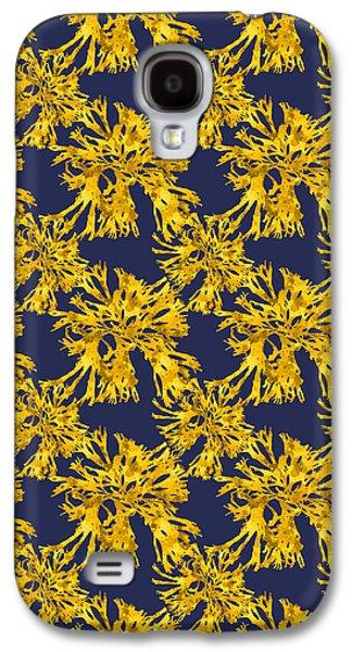 Ocean Seaweed Plant Art Rhodomenia Sobolifera Square Galaxy S4 Case by Christina Rollo