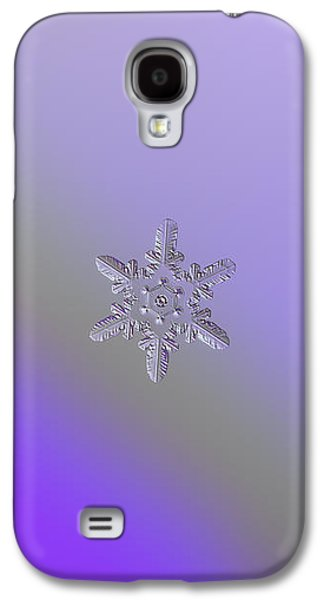 Snowflake Photo - Heart-powered Star Galaxy S4 Case