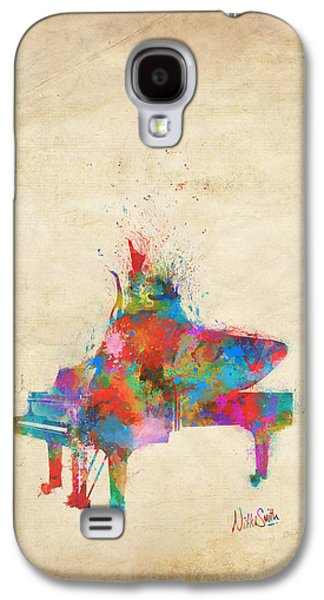 Music Strikes Fire From The Heart Galaxy S4 Case by Nikki Marie Smith