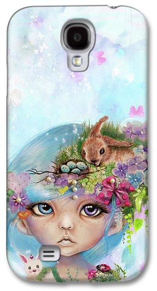 Eliza - Easter Elf - Munhkinz Character Galaxy S4 Case by Sheena Pike